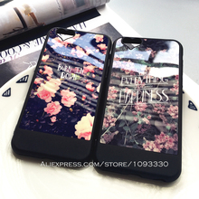 Retro Nature Phone Case for Apple iPhone SE 6s 5 5s 6Plus 6 Floral Beautiful Flower Soft Silicone Protective Shell Cover Bags