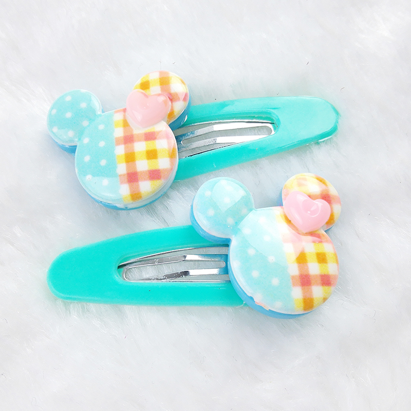 2Pcs/Lot Flower Cute Baby Girl Ribbon Hair Bows Clips Hairpin Girl's Butterfly Hairgrip Hairwear Kids Hair Accessories(China (Mainland))