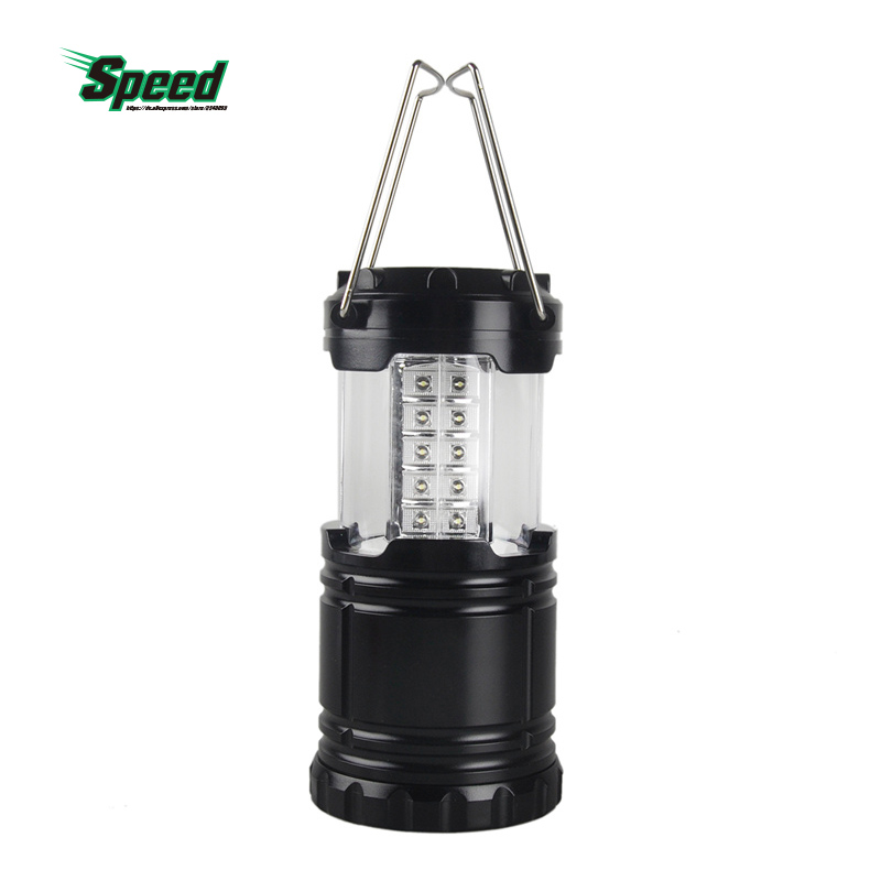 2016 High Quality Outdoor Sport Portable Camping Hiking Fishing Tackle Tourist Telescopic 30 LED Lantern Tent Lamp Light(China (Mainland))