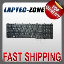 New US Layout Keyboard Black For Toshiba Satellite C650 C655 C655D C660 C670 Series Black