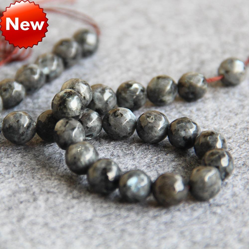 2015 New For Necklace&Bracelet 10mm DIY Natural India Labradorite Beads Flash Light Reflective Jade Beads Stones Jasper Jewelry(China (Mainland))