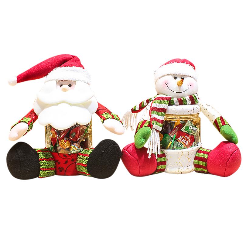 Piece cm santa claus snowman christmas box xmas