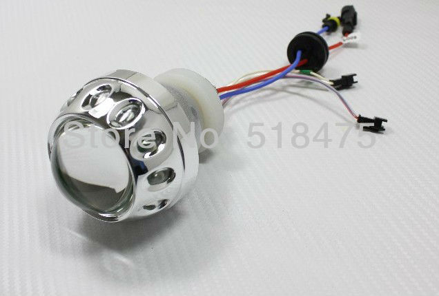 New! Hot sales HID moto projector lens for motocycle 2.5 inch*1set J801(China (Mainland))
