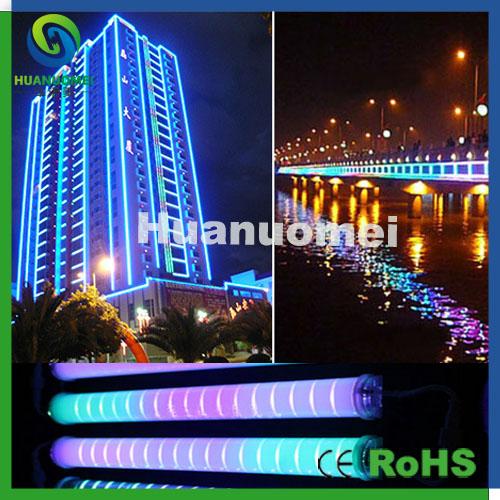 50cm rgb led tube light decorative outdoor building guardrail tube led light with 54leds(China (Mainland))