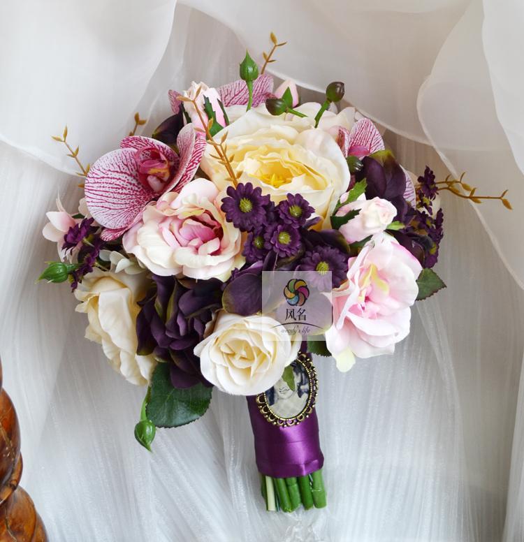 silk daisy wedding flowers