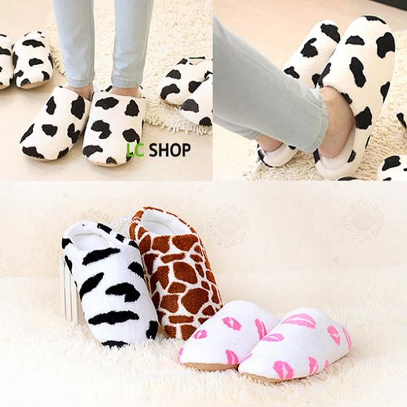 Гаджет  Men Women Soft Winter Non-slip Slippers Cotton Sandal House Home Anti-slip Shoes None Обувь