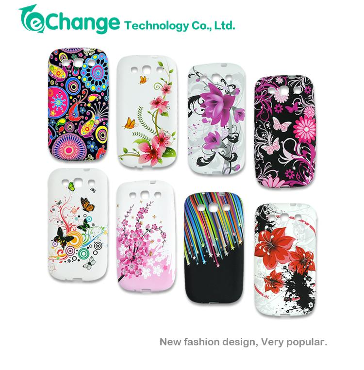 For SamSung Galaxy S3 i9300 Case Soft Silicone Gel Protective Back Skin Cover Case EP0983(China (Mainland))