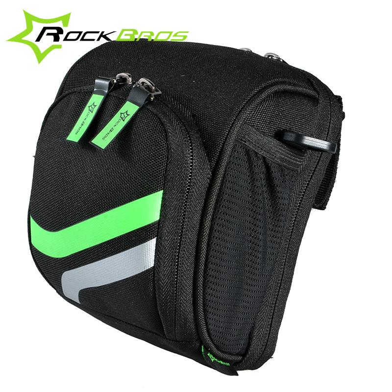 ROCKBROS Bicycle Cycling Bicycle Frame Front Tube Bag Bike Package Bags Handlebar Bag With Rain Cover Cycling Bike Accessories <br><br>Aliexpress