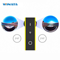 New Arrival Eyesir Mini 360 Camera 2k Resolution Panoramic Video Camera 1920 960 30fps Sport and