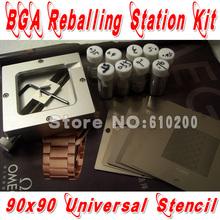 Buy New BGA reballing Kit 19/pcs 90*90 BGA Universal Stencil +BGA Reballing Station+BGA solder balls ) for $39.99 in AliExpress store