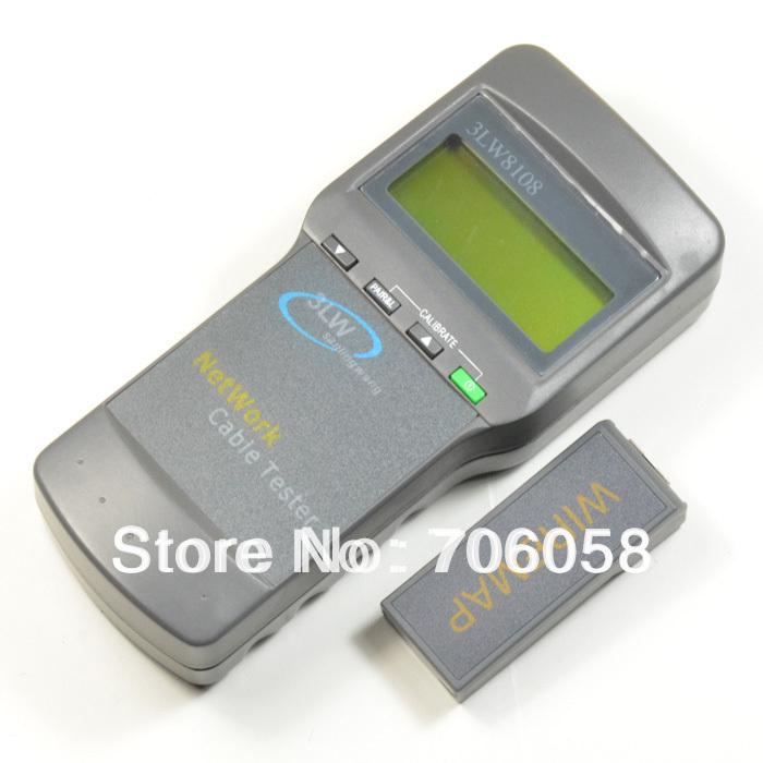 Cat 5 Network Cable Testers : Aliexpress buy cat rj network cable tester meter