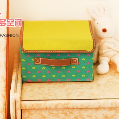 BF040 High quality caring pattern non woven storage box 26*20*17cm(China (Mainland))