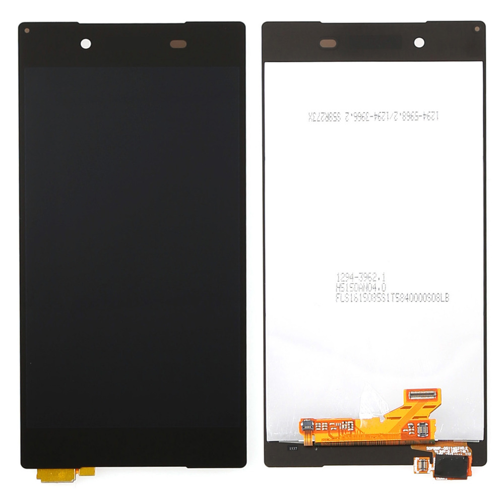 NEW white black lcd display touch screen digitizer full assembly replacement parts for Xperia Z5 E6603 E6633 E6653 E6683(China (Mainland))
