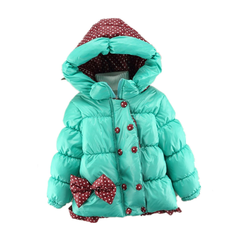 2016 Children Coat Minnie Baby Girls winter Coats kids jacket long sleeve coat girl's warm jacket Winter Outerwear Thick girls(China (Mainland))
