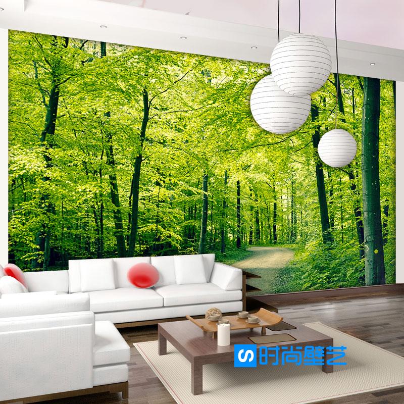 Compra murales de papel tapiz paisaje online al por mayor - Murales de pared 3d ...