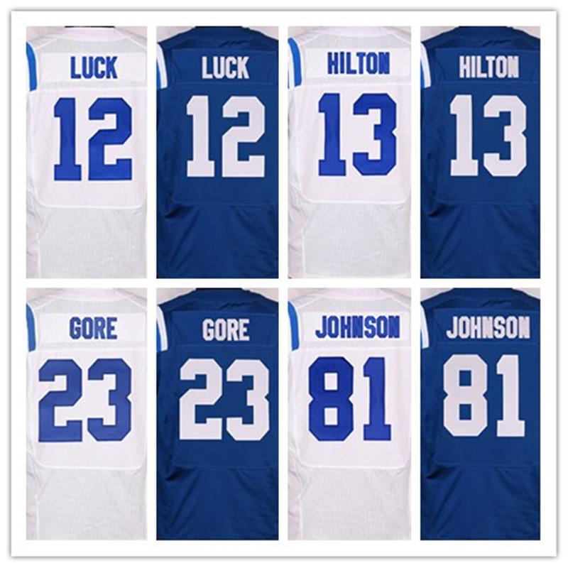 1 Pat McAfee 12 Andrew Luck 23 Frank 81 Andre Johnson 87 Reggie Wayne(China (Mainland))