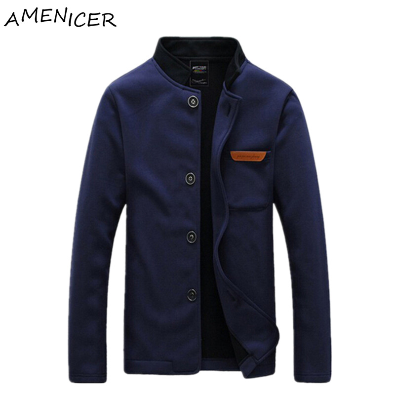 Mens Bomber Jackets Coats Casual Fashion Single Breasted New Spring Windbreaker For Man Pilot Windbreakers Veste Homme Clothing(China (Mainland))