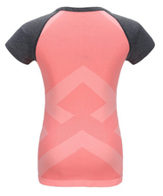 women t shirt fast dry crop top short sleeve exercise clothes for fitness sports running sports