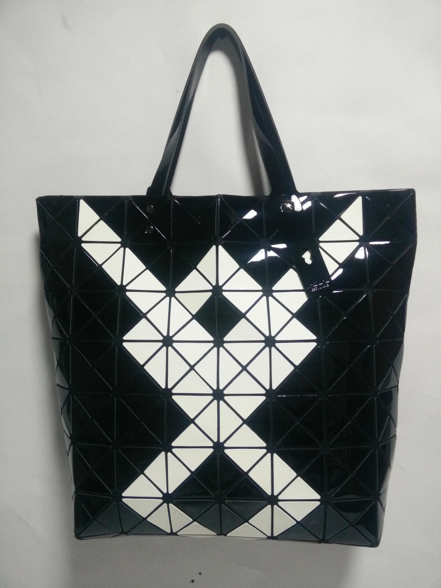 Hot Fashion Brand Women's Same As Baobao Casual Bag Ladies' Bao Bao  Lattice Geometric Patchwork Handbag Tote Bag8*8 Lattice