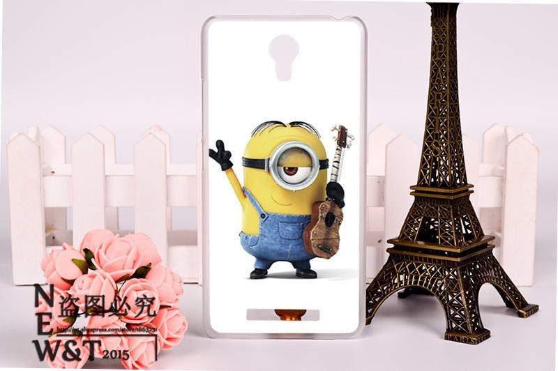 Phone Back Cover For Xiaomi Redmi Note 2 II Hongmi Note 2 hongmi note2 redmi note2 Cases Minione Hard&Silicon Soft Accessories