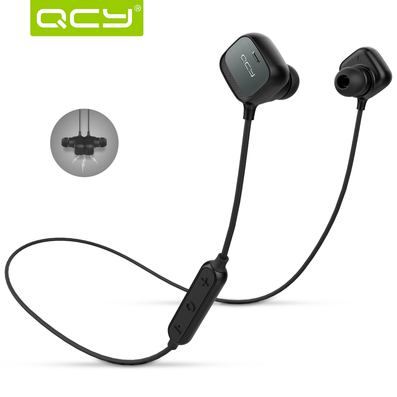 wireless headset bluetooth headphone earphone original qcy. Black Bedroom Furniture Sets. Home Design Ideas
