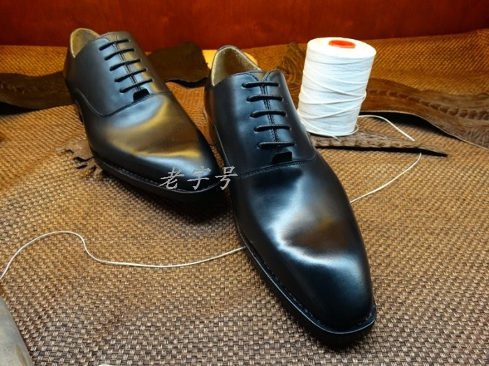 Goodyear handmade leather mens business dress shoes pointed breathable men shoes italian brand design<br><br>Aliexpress