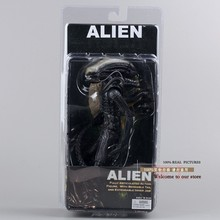 "Free Shipping Fashion New Arrival NECA Official 1979 Movie Classic Original Alien 7"" Action Figure Toy Doll MVFG035(China (Mainland))"