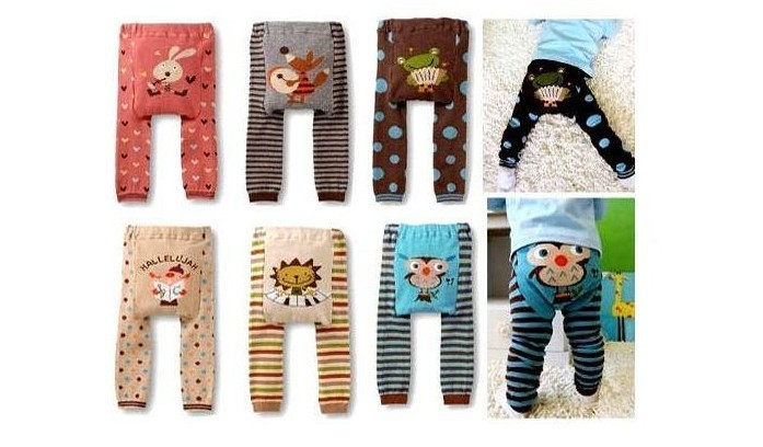 New New Sale Baby Boys Girls Children Kids PP Pants Long Pants Cartoon Legging Cotton Wear Pants