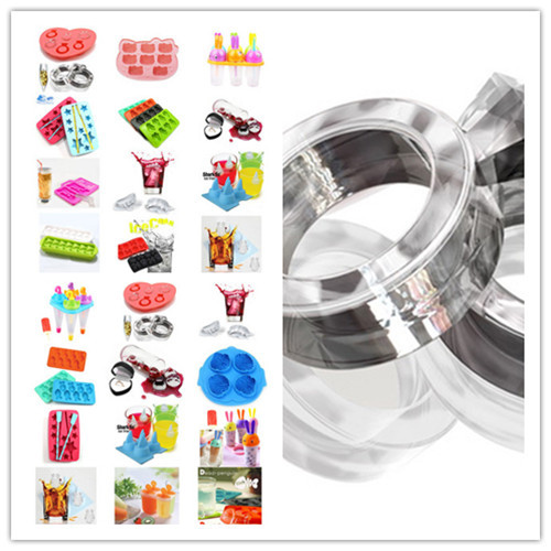 Ice box ice box ice maker ice pattern diamond ring mould ice cube tray ice Popsicle ice box