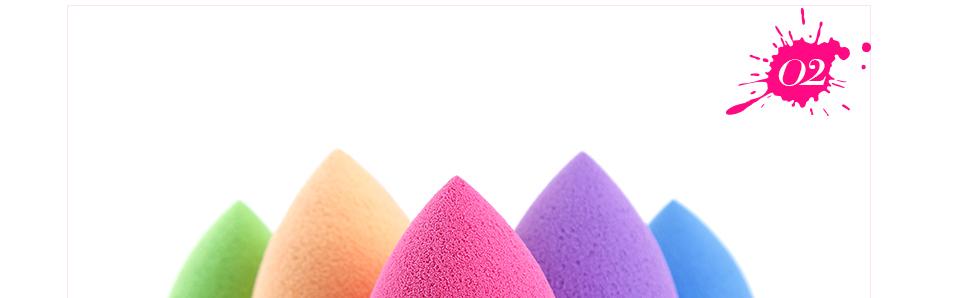 Beauty make up Sponge puff fundation Blender Makeup Sponge Blender Blending Foundation Smooth Sponge 14 colors to choose