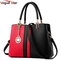 2017 Designer Women Leather Handbag New Popular Fashion PU Leather Women Shoulder Messenger Bag for female