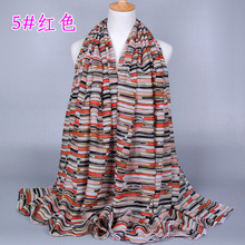 Free shipping Lady Women Neck Warm Tartan Grid Pashminas Reversible Viscose Shawl Scarf WrapM3571