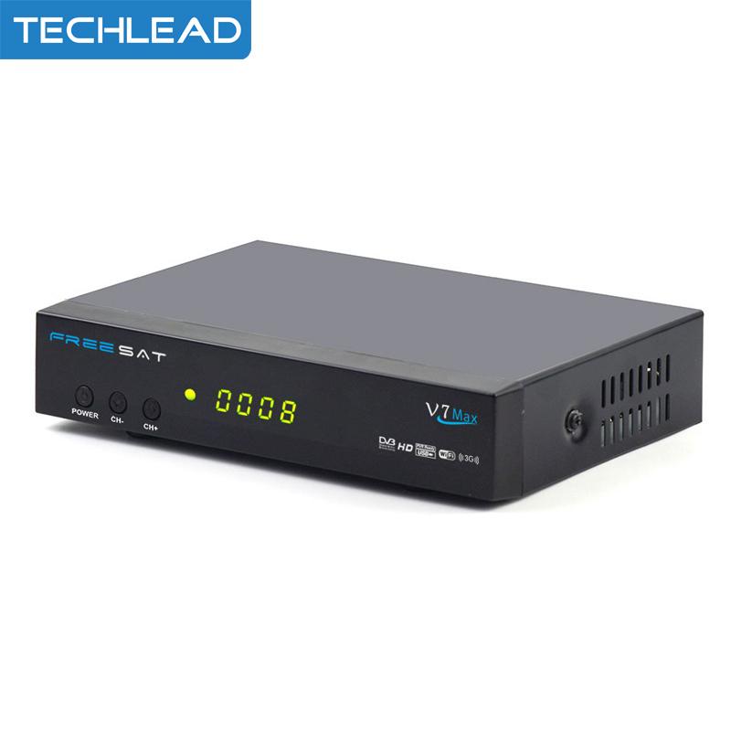 1PCS Freesat V7 Max 1080p Full HD DVB-S2 Satellite TV Receiver Support PowerVu Biss Key Cccam Newcam Youtube STB Set Top Box(China (Mainland))