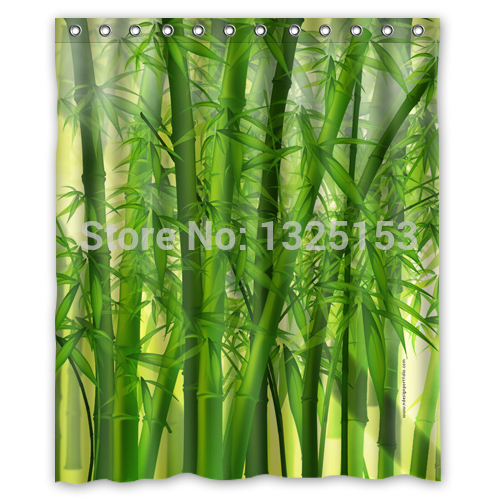 bamboo pattern curtains