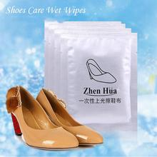 Disposable Shoes Care Wet Wipes New Portable Shoe Towel Outdoor Shoe Shine Care Leather Care Polish Kits Shoes Cleaning Tools (China (Mainland))