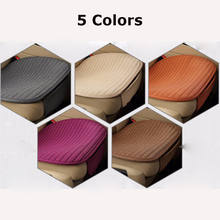 Buy KKYSYELVA 54x51cm Car Seat Cover Grey Flax Car Chair Cover universal Front Back Seat Cushion Covers Car Interior Accessories for $9.91 in AliExpress store