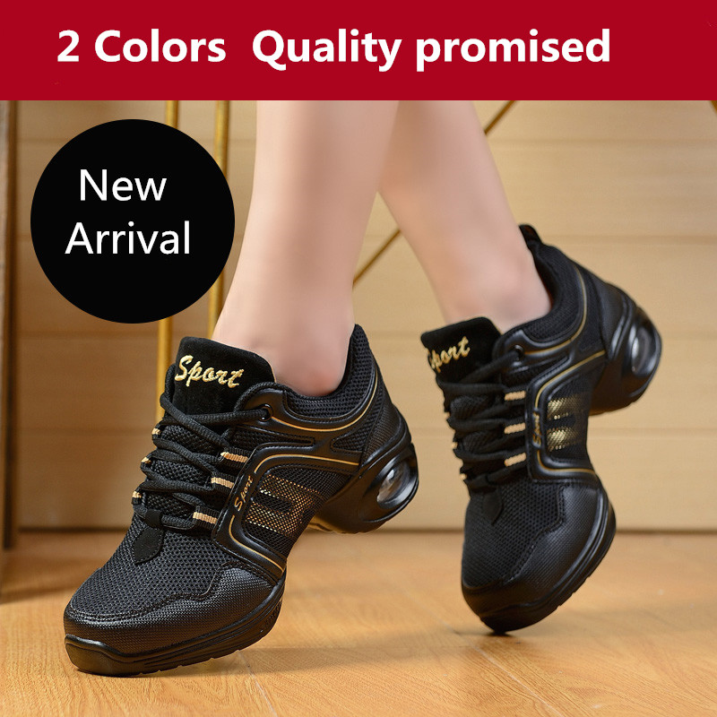 Shoes Dancing sneakers Shoes Women modern mesh dance shoes soft bottom teacher Square dance shoes zapatos mujer modern 7203