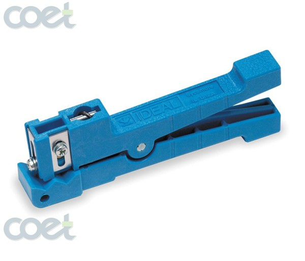 Fiber Optic Cable Stripping Tool Ideal 45-163 stripper Coaxial Stripper ,1/8 7/32 - FiberOptics4sale store