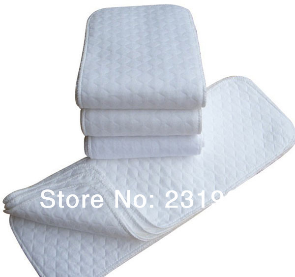 Baby diapers washable reusable cloth nappies 3 layers merries diaper insert super-absorbency Microfiber nappy Liners BB020 - MyLovingStyle store