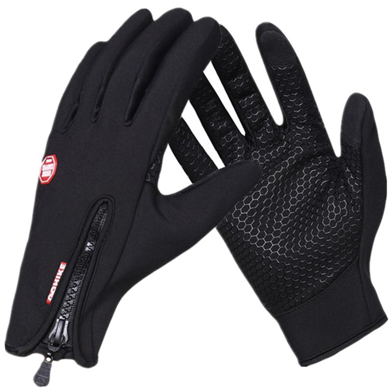 2017 New Windstopper Brand Touch Screen Gloves Men & Women & Kids Winter Gloves Windproof Waterproof Gloves(China (Mainland))