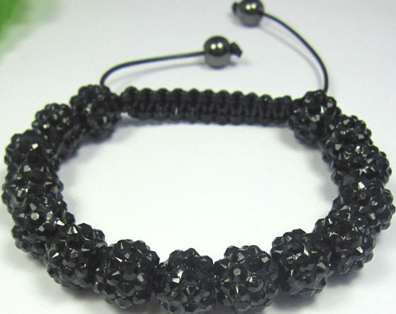 New WEESD hot micro pave CZ Disco RESIN Crystal Shamballa Bracelet fasion Giftjewelry Discount.(China (Mainland))