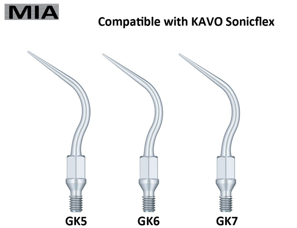 tools for dentist teeth whitening dental equipment and instrument ultrasonic dental scaler tip for KAVO SonicFlex ASSORTED KIT(China (Mainland))