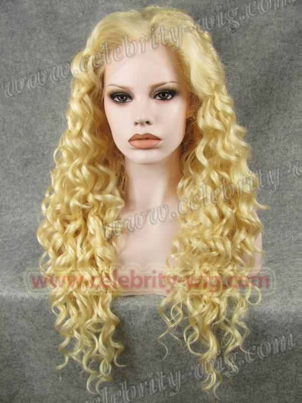 Здесь можно купить  N18-613 Stunning Curly Synthetic Lace Front Wig Rupaul Wig  Волосы и аксессуары