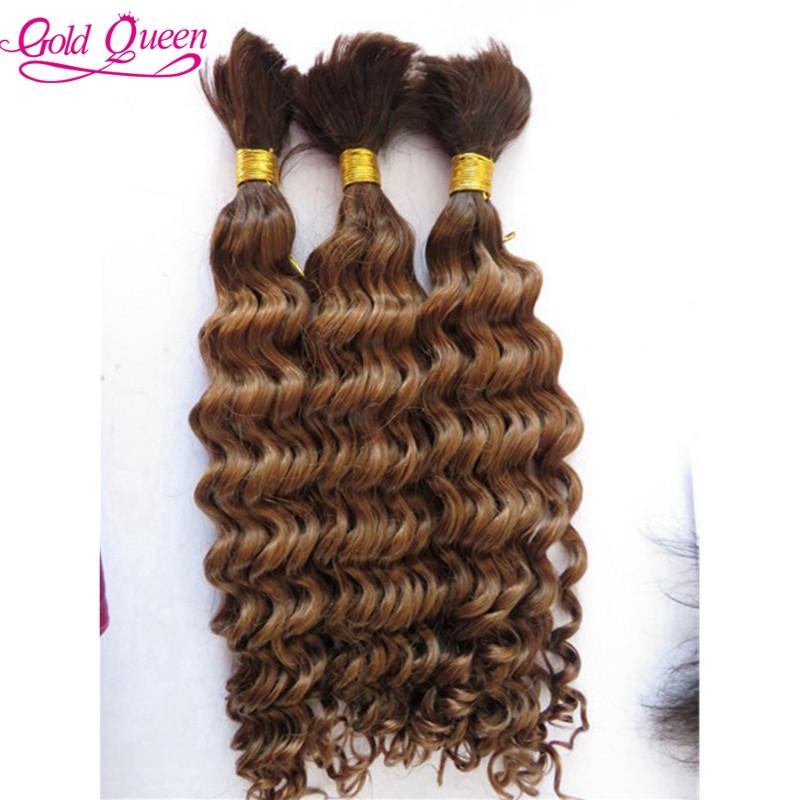 Best Charming ombre human hair brazilian two tone human hair braiding hair bulk 4/30# 3pcs/set deep wave high quality hair bulk