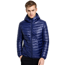 2017 New Casual Brand White Duck Down Jacket Men Autumn Winter Warm Coat Men's Ultralight Duck Down Jacket Male Windproof Parka(China (Mainland))