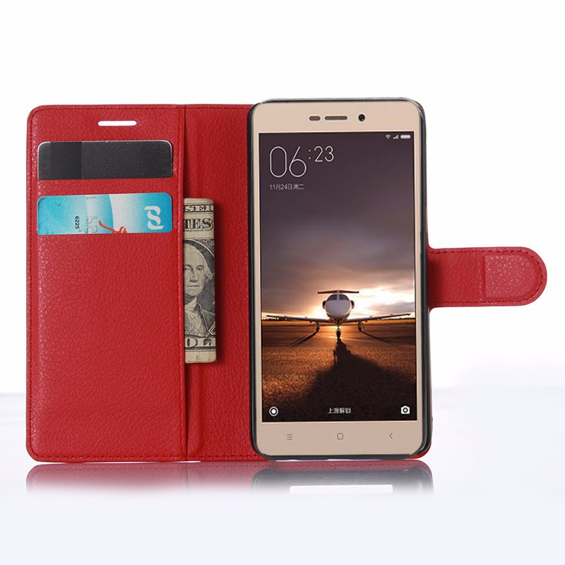 For Xiaomi Redmi 3 Pro Case 5.0 Wallet PU Leather Back Cover Case For Xiaomi Redmi 3 Redmi3 Pro Case Flip Protective Phone Bag (6)