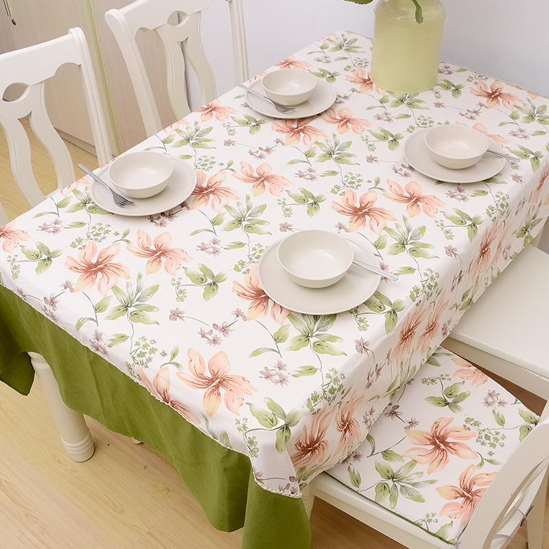 Cosmetic contact lenses oriental style special green cotton table tablecloth lace cloth manteles para mesa nappe Toalha(China (Mainland))