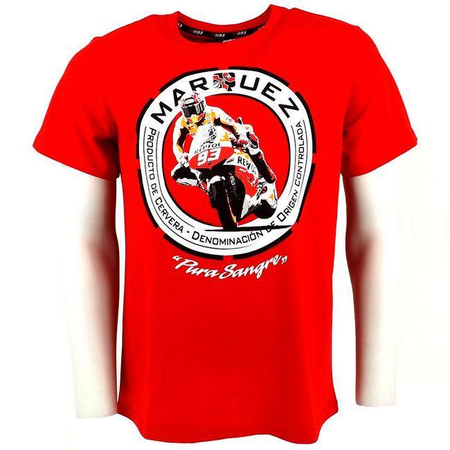 2015 Men's MOTO GP PURA SANGRE 93 Marc Marquez T shirt Motorcycle Racing Short Sleeve T Shirt Personality Summer Casual T shirt(China (Mainland))