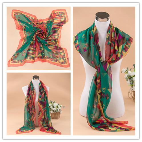 2015 New Arrival 140x140cm Plain Chiffon Shawl Apparel & Accessories Elegent Women Large Square Printed Beautiful Scarf(China (Mainland))