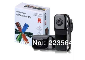 Luxury Black Mini DV Camcorder DVR Video Camera Webcam MD80 (10piece/1lot)
